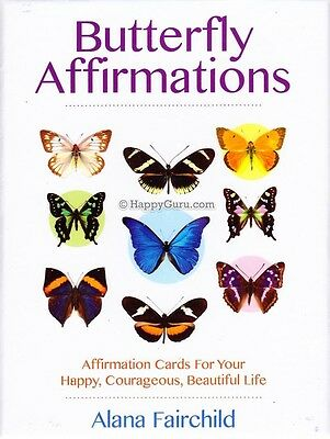 """""""butterfly Affirmations"""" By Alana Fairchild (Oracle Cards)"""