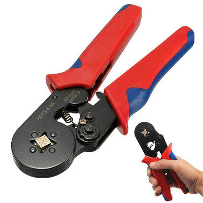 Adjustable Terminal Crimping Tool Bootlace Ferrule Crimper Wire End 0.25-6.0mm²