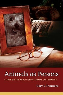 Animals as Persons by Gary L. Francione Paperback Book (English)