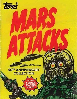 Mars Attacks by The Topps Company Hardcover Book (English)