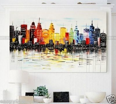 Huge Abstract Oil Painting Modern Wall Art On Canvas (No frame)