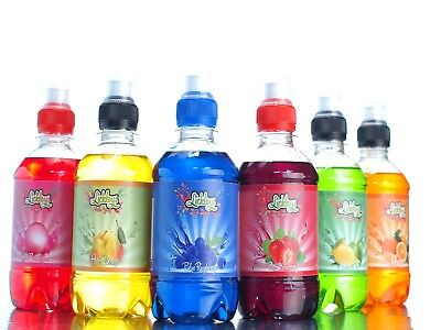 330ml Slush Syrup Snow Cone Syrups multiple flavours available *FREE STRAWS*