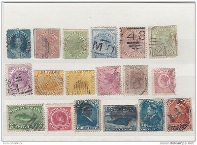 British Commonwealth Victorian Unchecked Used Collection (18V) ZZ1253