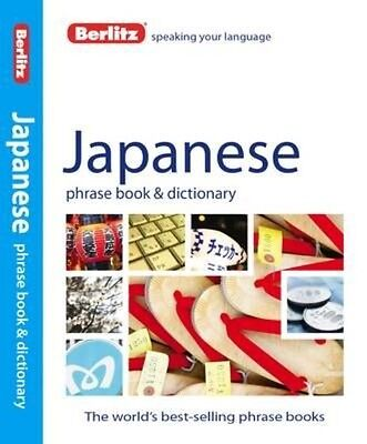 Berlitz: Japanese Phrase Book & Dictionary by Berlitz Publishing Paperback Book
