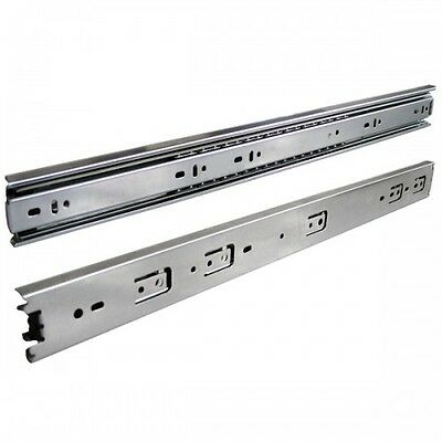 (Box 10 Pairs) 22 inches Full Extension Ball Bearing Drawer Slide