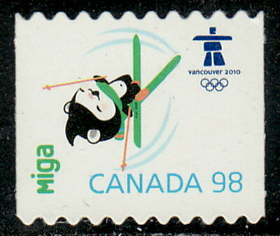 Canada #2311i Olympic Mascots & Emblem From Booklet Die-Cut MNH