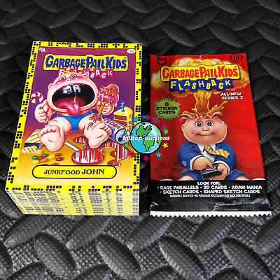 Garbage Pail Kids Flashback 3 2011 Complete 5-Card 3D Motion Set Fb3 Adam Boom