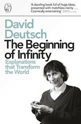 The Beginning of Infinity by David Deutsch Paperback Book (English)