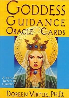 Goddess Guidance Oracle Cards by Doreen Virtue Paperback Book (English)