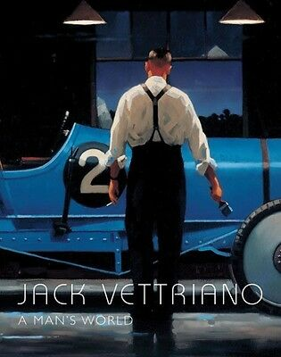 A Man's World by Jack Vettriano Hardcover Book (English)