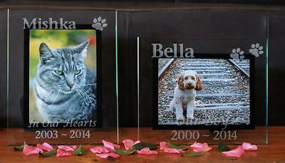 Pet Memorial Picture Frame - Personalised  Photo Frame
