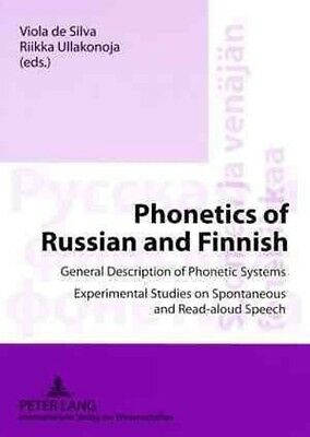Phonetics of Russian and Finnish by Paperback Book (English)