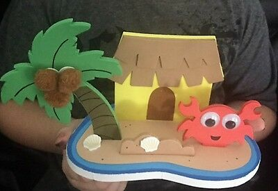 Ocean scene craft kit for kids. Great for parties, schools, OHSC, childcare.