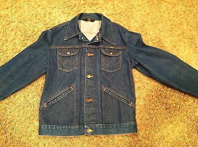 Vintage! - WRANGLER - Jean Jacket - Authentic - Dead stock - Great Condition!