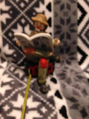 The Original Emmett Kelly  Collection Exclusively from Flambro,Funny Pg.s