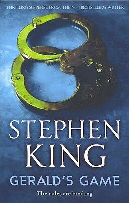 Gerald's Game by Stephen King Paperback Book (English)