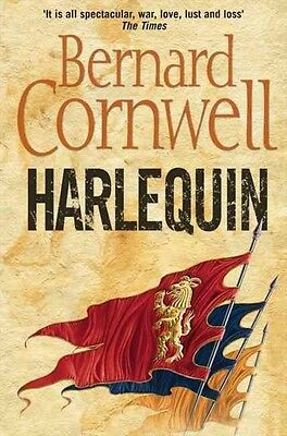 Harlequin (the Grail Quest, Book 1) by Bernard Cornwell Paperback Book (English)