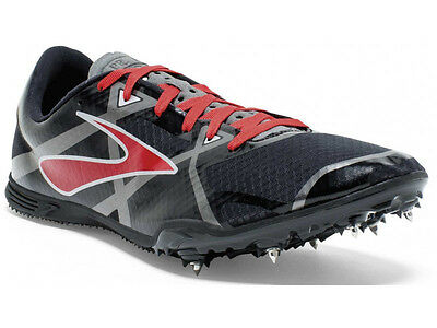 Brooks PR MD 3 Mens Running Spikes Middle Distance 400-1600m & Hurdles RRP £50