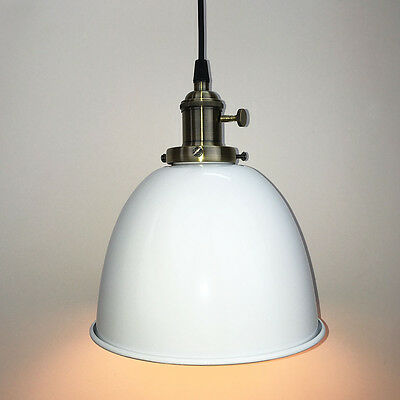 Modern Vintage Industrial Bronze Pendant Light Ceiling Lamp Shade Restaurant Bar