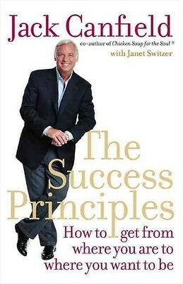 The Success Principles by Jack Canfield Paperback Book