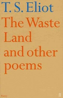 The Waste Land and Other Poems by T.S. Eliot Paperback Book