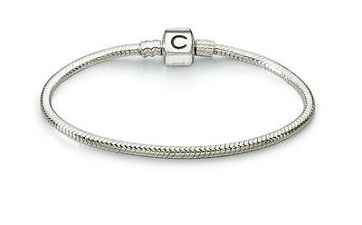 a2f7198a0f9f2 AUTHENTIC CHAMILIA STERLING Silver Snap Bracelet Ba-3 7.5