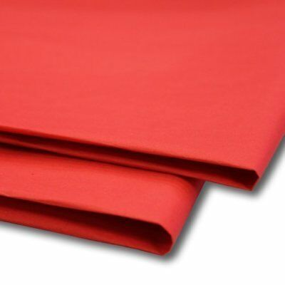 "50 x Red Tissue Paper / Gift Wrap / Wrapping Paper Sheets 20"" x 30"""
