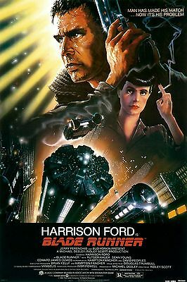 1980s BLADE RUNNER movie poster replica magnet - new!