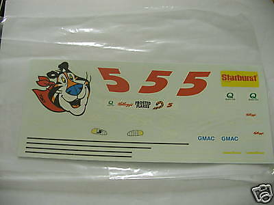 #5 Cornflakes Tony Tiger Monte Terry Labonte decals