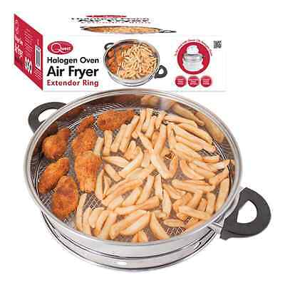 New Air Fryer Ring Attachment Accessory For Halogen Oven Grilling Frying Cooking