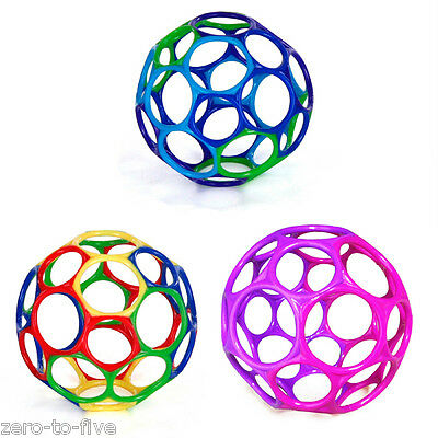 "Bright Starts Oball 4"" - Flexible Bendable Ball - Baby Toy - Teether  0 months +"