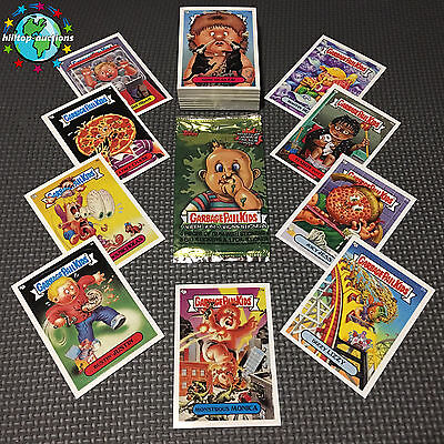 Garbage Pail Kids Ans1 Complete 80-Card Set 2001 All-New Series 1 +Free Wrapper