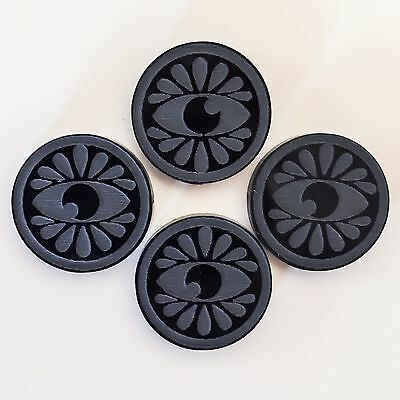X-Wing Miniatures Acrylic Game Focus Token 4 -Pack VADER BLACK