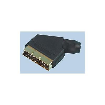 Ga43111 Pro Signal - Psg02019 - Scart Plug, Gold Plated Contacts