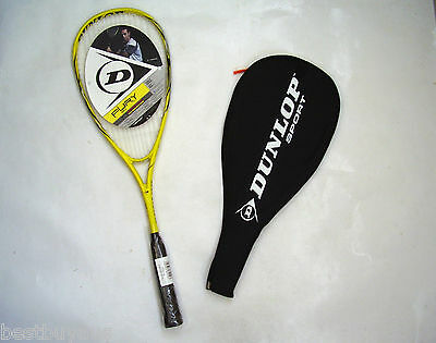 New! Dunlop Fury 20 Squash Racquet & Cover