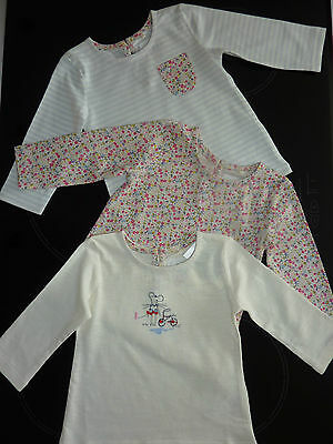 NEXT 3 Gorgeous Little Ditsy Long Sleeve Tops NWT