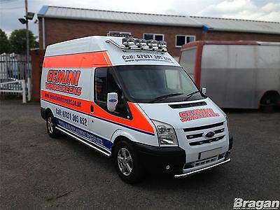 Iveco Daily Medium High Roof Stainless Steel Roof Light Bar + Spots