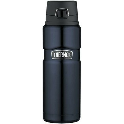 Thermos 24Oz Ss Insulated Beverage Bottle Midnight Blue