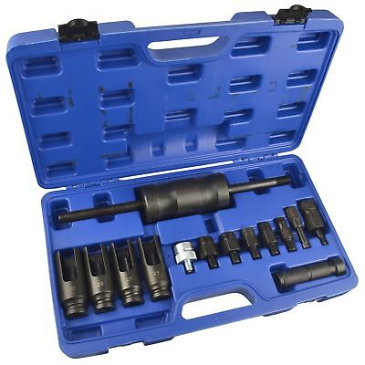 14pc Bosch Diesel Injection Injectors Puller Common Rail Adaptor BERGEN AT651