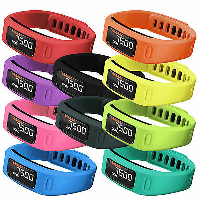 Hellfire Trading Replacement Wristband Bracelet Band Strap for Garmin Vivofit