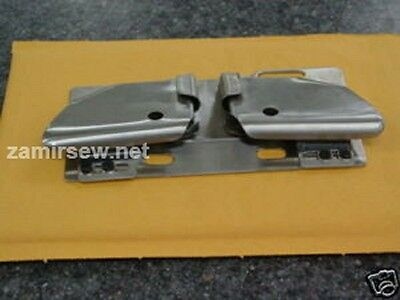 Zipper Attachtment & Folder For Double Needle Machines , Juki 1560 , Consew 339