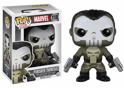 Funko Pop! Marvel: Nemesis Punisher Vinyl Action Figure