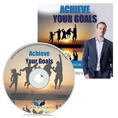 Achieve Your Goals Hypnosis CD + FREE MP3 VERSION get motivated
