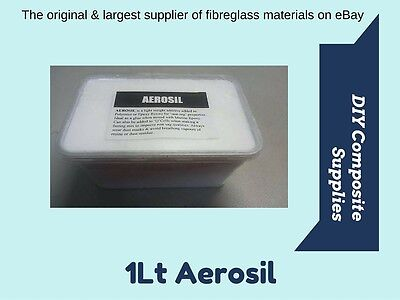 Aerosil - 1 Lt - Filler for Polyester & Epoxy Resins (FREE FREIGHT)