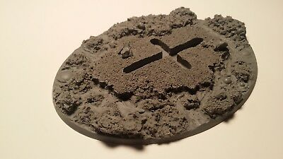 Warhammer 40k Elrik's Hobbies Terrain Lava Industrial slime 120x92mm Flying base