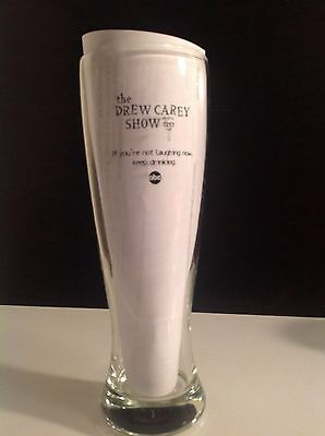 SALE! COLLECTIBLE Clear glass large beer glass From The Drew Carey Show vintage