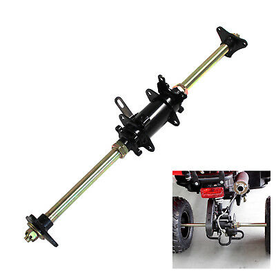 Complete Rear Axle w' bearing carrier hubs for Atomik 110cc 125cc ATV quad Buggy