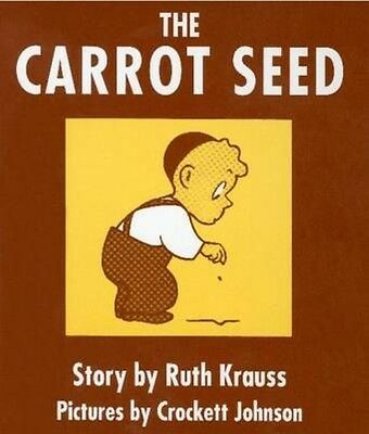 The Carrot Seed Board Book by Ruth Krauss Board Books Book (English)