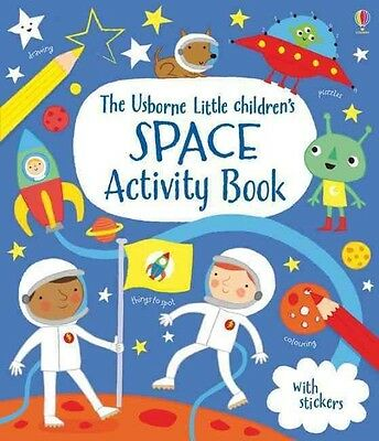 Little Children's Space Activity Book by Rebecca Gilpin Paperback Book