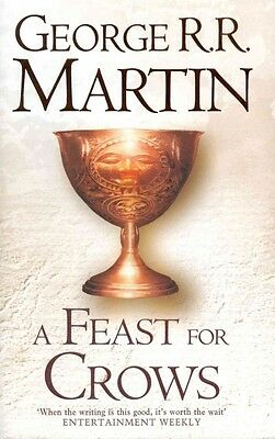 A Feast for Crows by George R.R. Martin Hardcover Book (English)